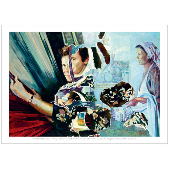 Ilya and Emilia Kabakov: The Appearance of the Collage # 8 (poster)