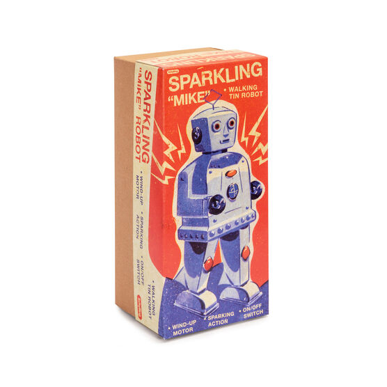 Sparkling Mike Robot model