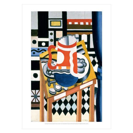 Fernand Léger: Still Life with a Beer Mug poster