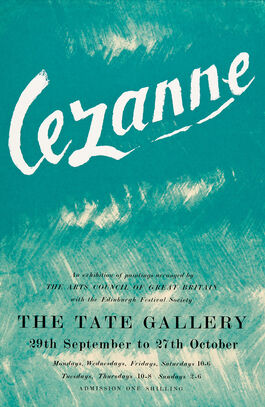 Cézanne exhibition poster