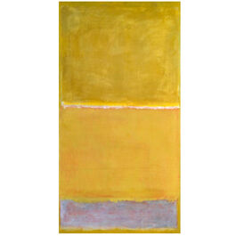 Rothko Untitled Yellow (screen print)