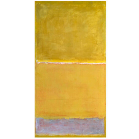 Rothko Untitled Yellow screenprint