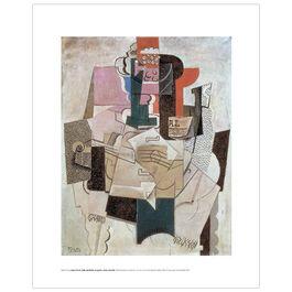 Pablo Picasso: Bowl of Fruit mini print