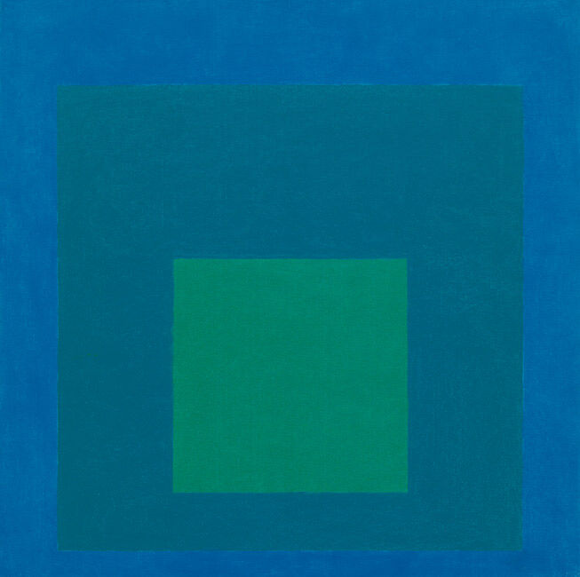 Josef Albers, 'Study for Homage to the Square: Beaming' 1963