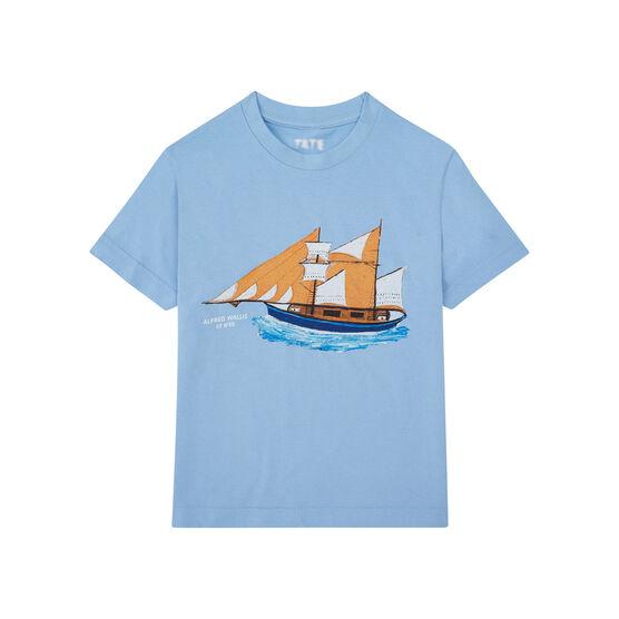 Alfred Wallis Blue Ship children's t-shirt