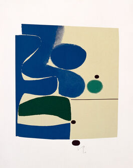 Victor Pasmore: Blue Movement and Green