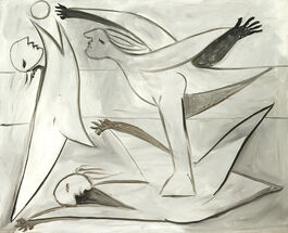 Pablo Picasso: Bathers with Beach Ball