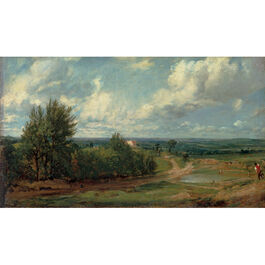 Constable: Hampstead Heath, 'The Salt Box'