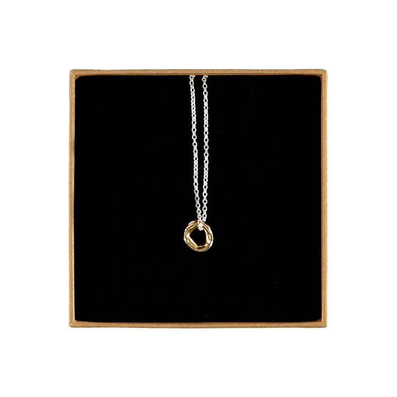 Plunge necklace