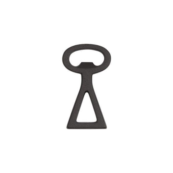 Cast iron single triangle bottle opener