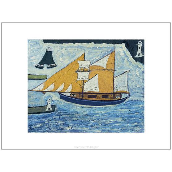 Wallis The Blue Ship (unframed print)