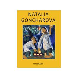 Natalia Goncharova postcard book