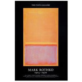 Mark Rothko: 1903-1970 vintage poster