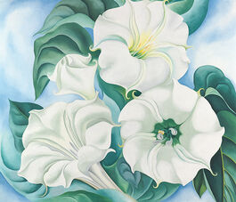 Georgia O'Keeffe: Jimson Weed