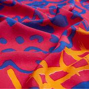 Patrick Heron silk scarf - pink