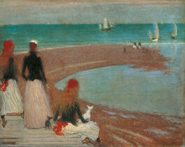 Philip Wilson Steer: The Beach at Walberswick