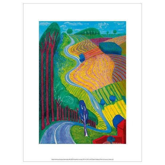 David Hockney Garrowby Hill (exhibition print)