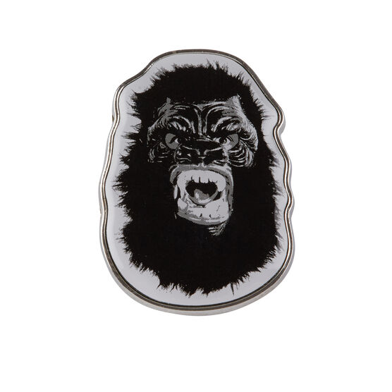 Guerrilla Girls Gorilla Mask pin badge