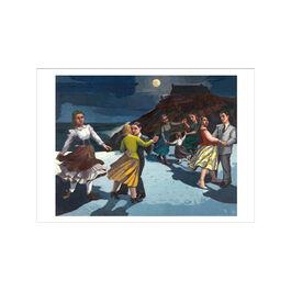 Paula Rego The Dance greetings card