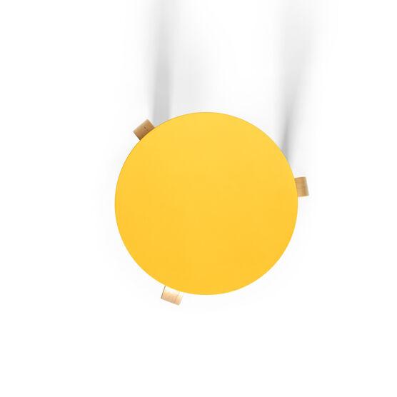 Alvar Aalto yellow lacquered Stool 60