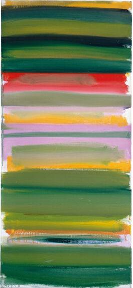 Patrick Heron: Green and Mauve Horizontals