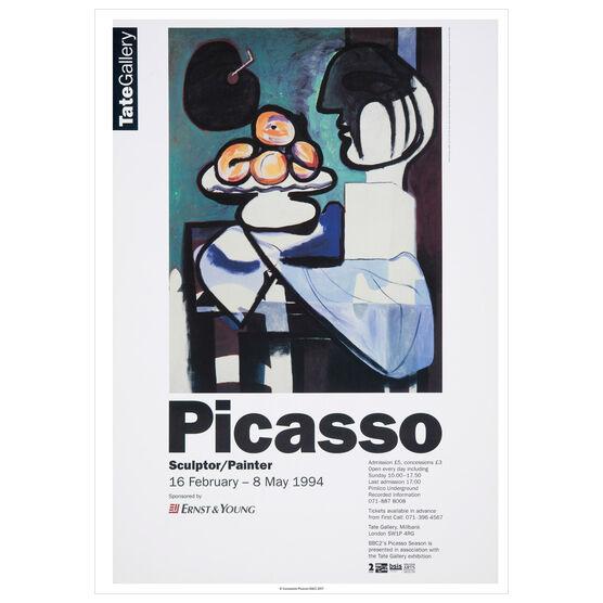 Pablo Picasso: Sculptor/Painter 1994 vintage poster