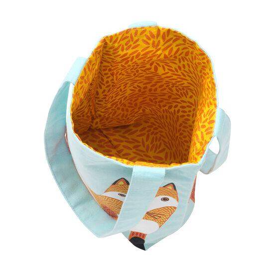 Children's fox tote bag