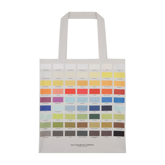 Colours of Liverpool tote bag