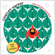 Charley Harper Sticker Calendar