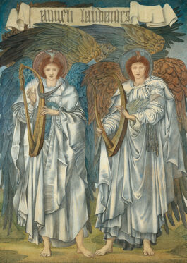 Edward Burne-Jones: Angeli Laudantes (Salisbury Cathedral)