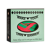 Make your own banner kit