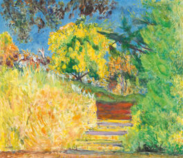 Pierre Bonnard: Stairs in the Artist's Garden