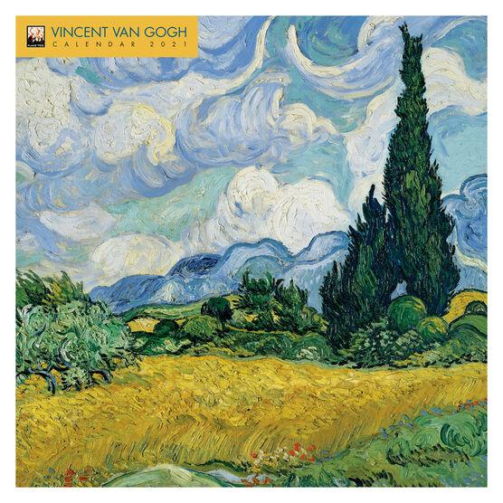 Vincent Van Gogh 2021 calendar