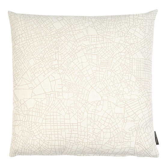 Metropolis cushion - white