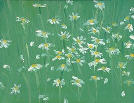 Alex Katz: Daisies #2
