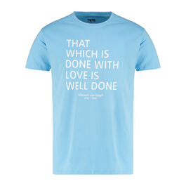 Van Gogh blue quote t-shirt
