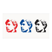 Andy Warhol inspired temporary tattoos