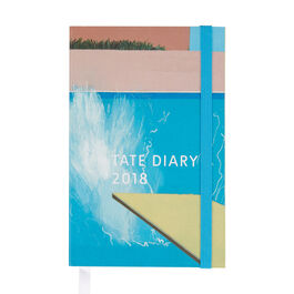David Hockney pocket diary 2018