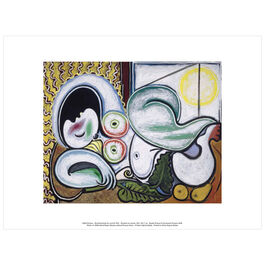 Pablo Picasso: Reclining Nude exhibition print