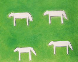 Peter Kinley: Four Sheep