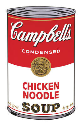 Andy Warhol: Campbell's Soup I: Chicken Noodle