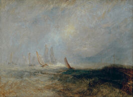 Turner: Fishing Boats Bringing a Disabled Ship