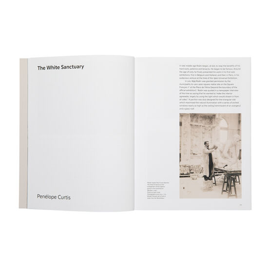 The Making of Rodin exhibition book inside