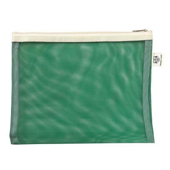Green mesh pouch