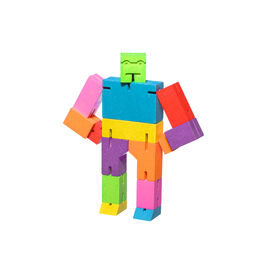 Multi-coloured cubebot