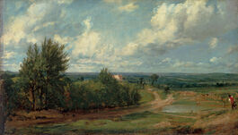 John Constable: Hampstead Heath, 'The Salt Box'