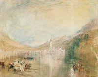 Turner: Küssnacht, Lake of Lucerne: Sample Study