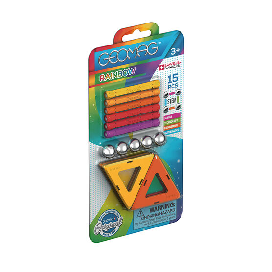 Geomag warm colours 15 magnetic toy