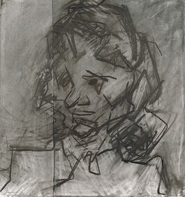 Frank Auerbach: Head of Catherine Lampert II