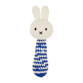 Miffy blue handmade rattle
